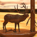 Wildlife Wood Carving by Bill Jons
